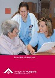 Herzlich willkommen - Pflegeheim Frutigland
