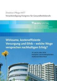 Wirksame, kosteneffiziente Versorgung und Ethik – welche ... - VfP