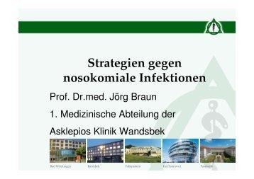 Strategien gegen nosokomiale Infektionen - Pflegeportal