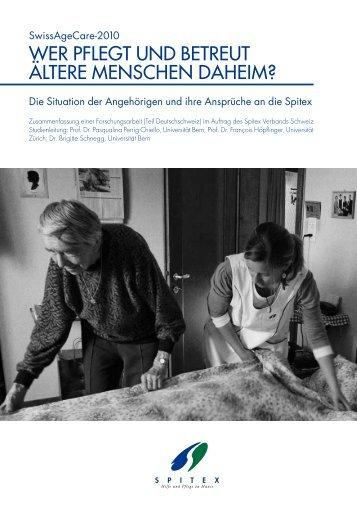Link zur SwissAgeCare Broschüre - Pflegeportal