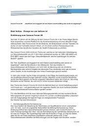Beat Sottas: Change we can believe in! Einführung ... - Pflegeportal