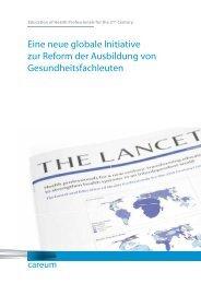 Health Professionals für das neue Jahrhundert - IAMP