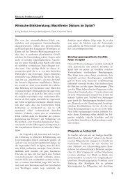 Klinische Ethikberatung: Machtfreier Diskurs im Spital? - Pflegeportal