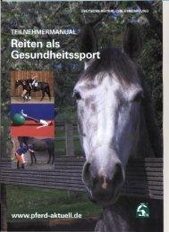 Haltung und Bewegung auf dem Pferd - Pflegeteam-Dismer