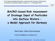 MACRO-based Risk Assessment of Drainage Input of ... - pfmodels