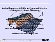 Optimal Experimental Design for Parameter Estimation in ... - pfmodels