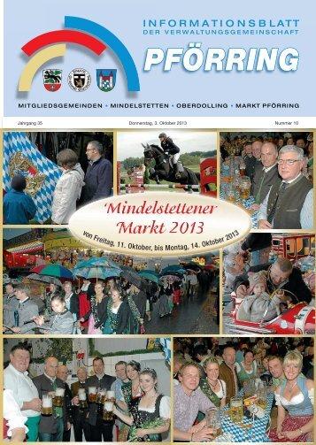 Informationsblatt-2013-10 - Markt Pförring