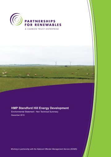 Non Technical Summary - Partnerships for Renewables