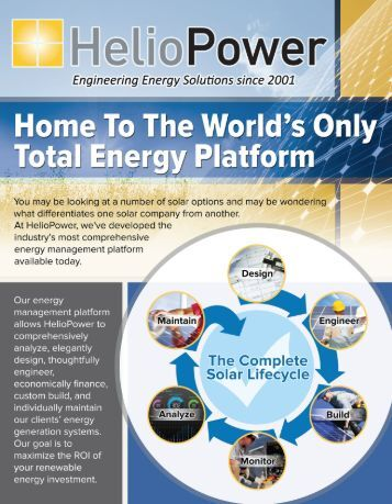 Image result for HelioPower