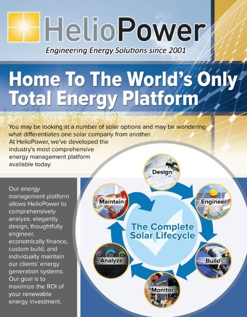 Home Solar Power by HelioPower