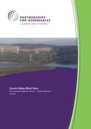 ES Vol 1 Written Statement - Partnerships for Renewables
