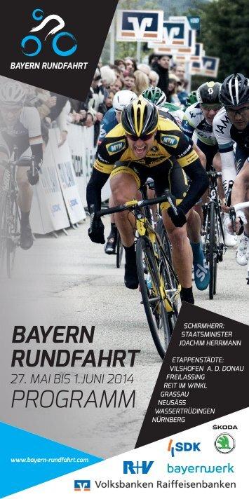BAYERN RUNDFAHRT Programm 2014