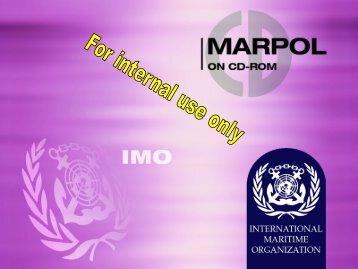 MARPOL on CD-ROM