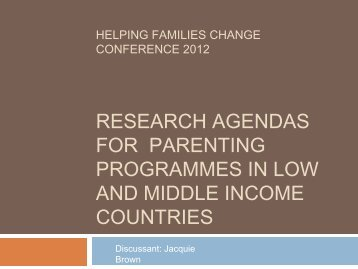 4. Jacquie Brown.pdf - Parenting and Family Support Centre