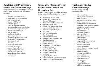 Ungewöhnlich Gerundien Arbeitsblatt Zeitgenössisch - Arbeitsblatt ...