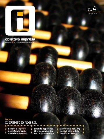 Numero 4/2011 - CCIAA di Perugia - Camera di Commercio