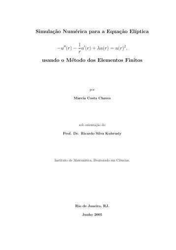 u(r) - Pós-Graduação IM - UFRJ