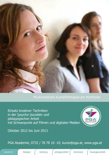 Multimediale Kunsttherapie als Methode - PGA