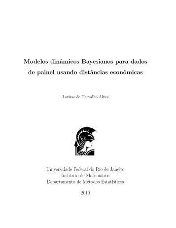 Modelos dinâmicos Bayesianos para dados de painel usando ...