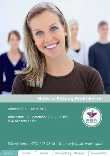 Holistic Pulsing PraktikerIn - PGA