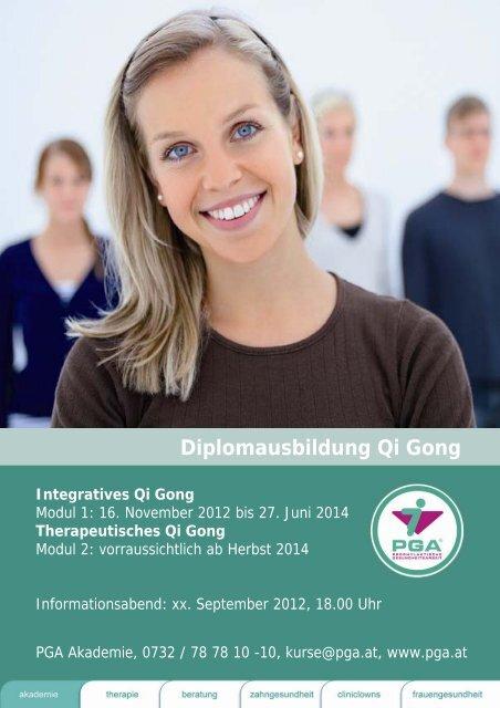 Diplomausbildung Qi Gong - PGA
