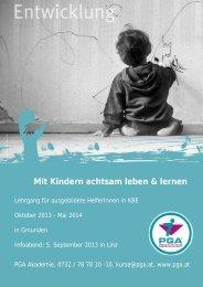 Mit Kindern achtsam leben & lernen