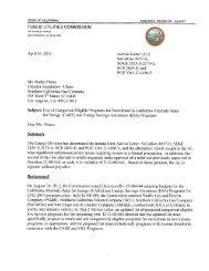 CARE and ESA Program Categorical Eligibility Study