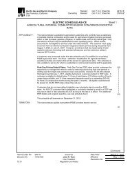 ELECTRIC SCHEDULE AG-ICE Sheet 1 AGRICULTURAL ...