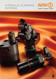 Hydraulic clamping systems - pge
