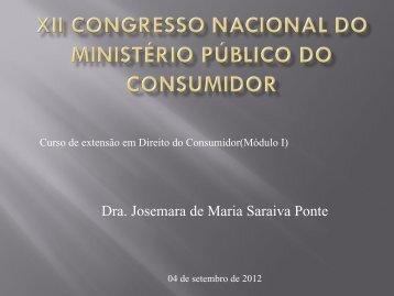 Os Direitos Basicos do Consumidor - Ministério Público do Estado ...