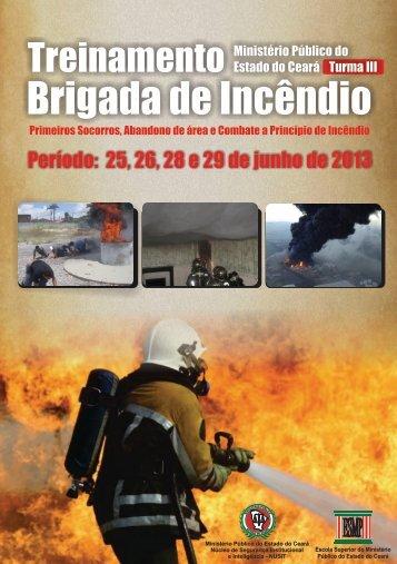 Curso Brgada de Incêncio - Turma III - Ministério Público do Estado ...