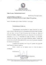 Oficio Circular Ne 083/2013/SEG/PGJ/CE Em Fortaleza,29 de maio ...