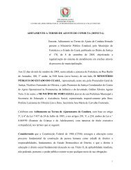 aditamento a termo de ajuste de conduta - Ministério Público do ...