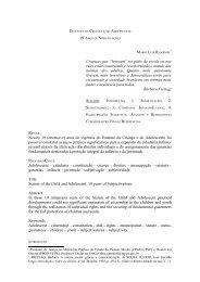 19 Anos de Subjetivações - Mário Luiz Ramidoff - Ministério Público ...