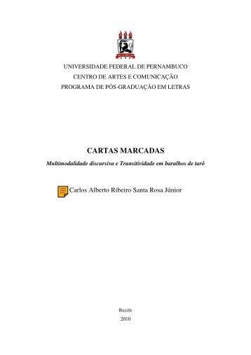 CARTAS MARCADAS - UFPE PPGL