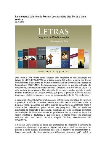 release-lancamentos - UFPE PPGL
