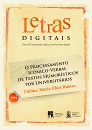 Letras Digitais: 30 anos de teses e dissertações