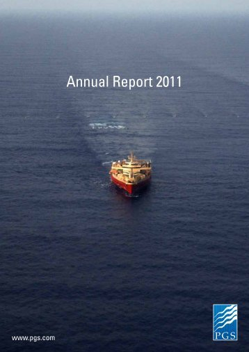 Annual Report 2011 - PGS