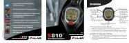 S810™ - Für Sport, Fitness und Wellness