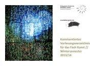 Kunst WS 2013/14