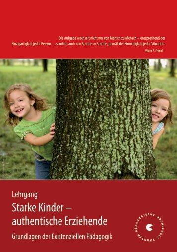 Starke Kinder - Pädagogische Hochschule Kärnten