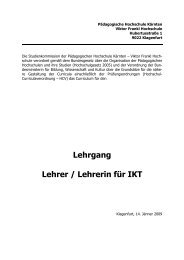 Lehrgang Lehrer / Lehrerin für IKT - Pädagogische Hochschule ...