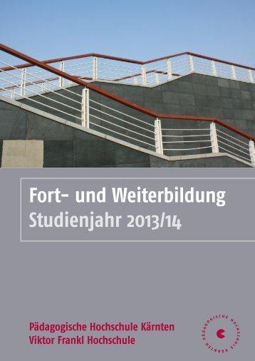 Fort - Pädagogische Hochschule Kärnten