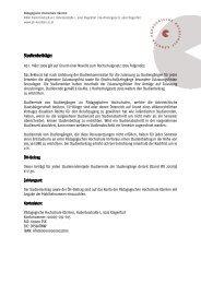 Studienbeiträge - Pädagogische Hochschule Kärnten