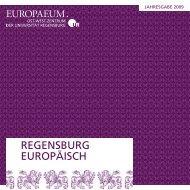 REGENSBURG EUROP