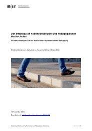 Forschungsbericht - Pädagogische Hochschule Karlsruhe