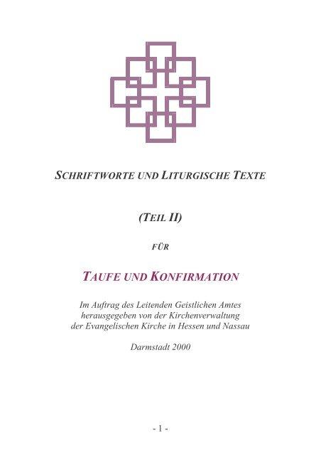 Taufe Und Konfirmation Evangelische Kirchengemeinde Gedern