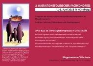 2. migrationspolitischer fachkongress - Pädagogische Hochschule ...