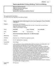 Regierungspräsidium Freiburg Abteilung 7 Schule und Bildung
