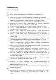 Veröffentlichungen (nach Erscheinungsjahr) - Pädagogische ...